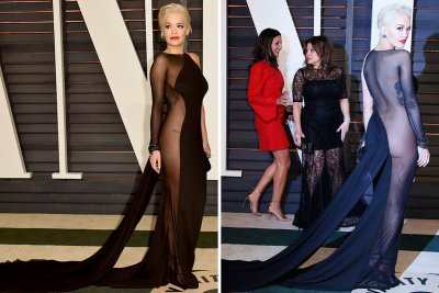 Oscars 2015 Vanity Fair party Rita Ora