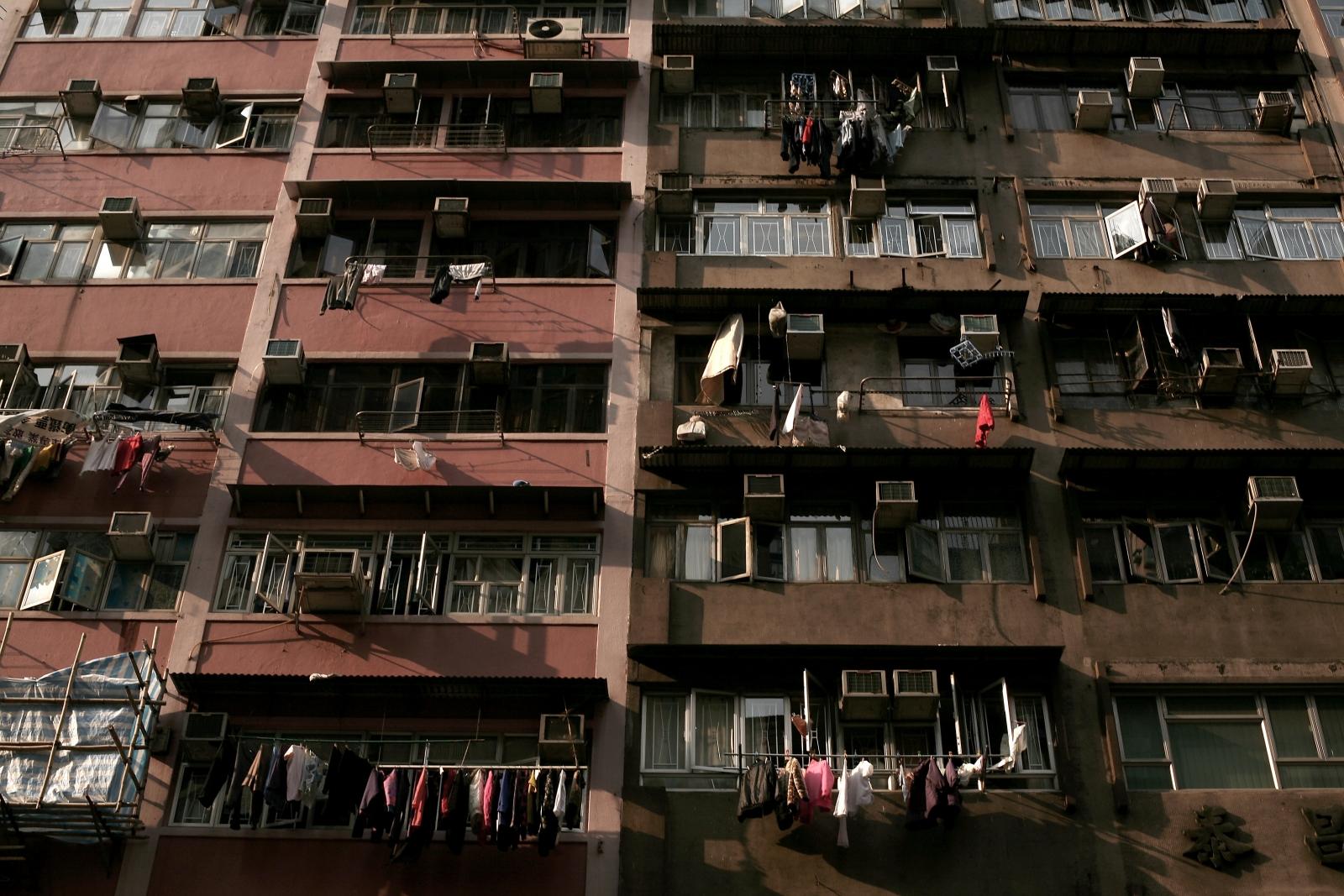 Hong Kong apartment block (Getty)