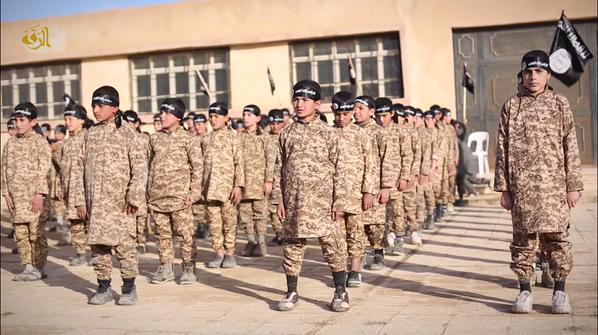 Isis releases new video of children jihadis camp where 'cubs' are trained