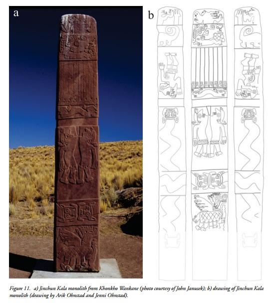 bolivia monolith