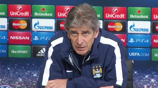 Manuel Pellegrini: City ready to take on the 'real Barcelona'