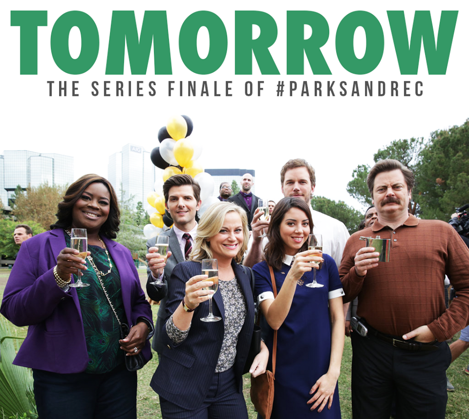 Parks and recreation season 7 finale episode will air tonight on NBC