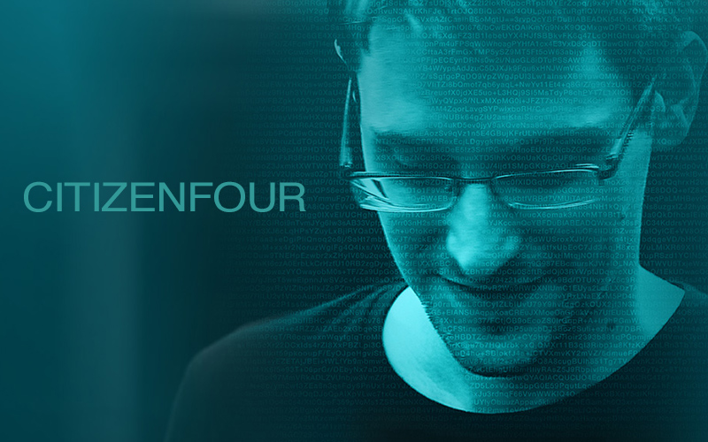 Citizenfour, a documentary about Edward Snowden featuring Glenn Greenwald and Laura Poitras, has won the Oscar for best documentary feature