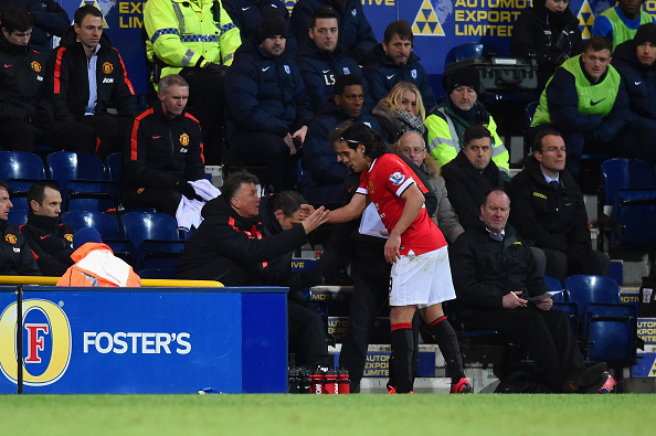 Manchester United: Louis van Gaal coy on Radamel Falcao replacing injured Robin van Persie