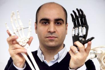 Newcastle University hand