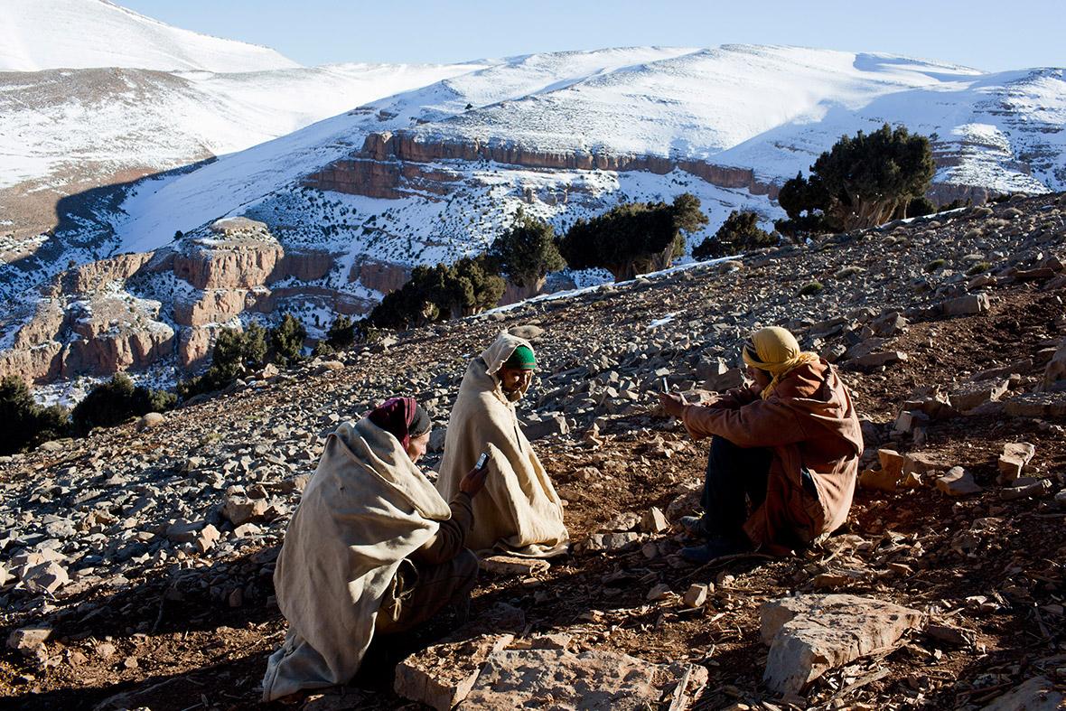 Berbers Atlas mountains Morocco