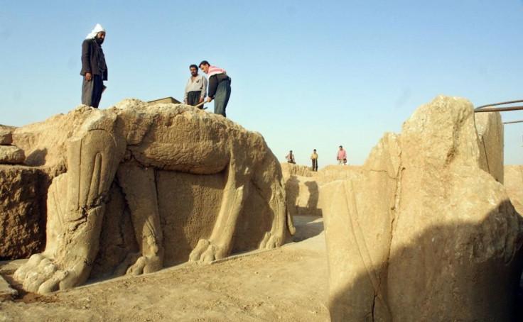 Assyrian temple in Iraq