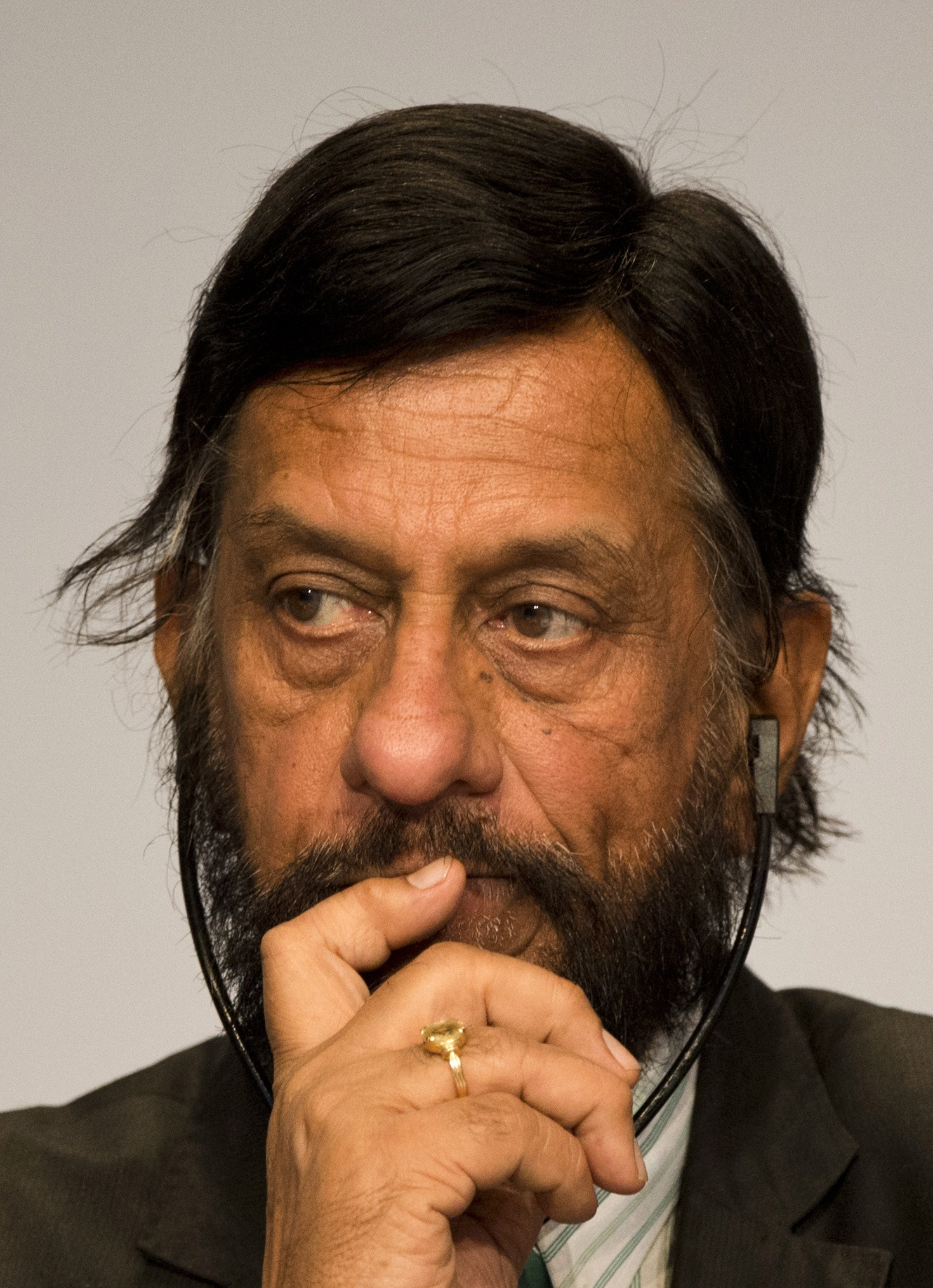Rajenda Pachauri: forced to quit his position as IPCC chairman after sex harassment allegations. (Getty)