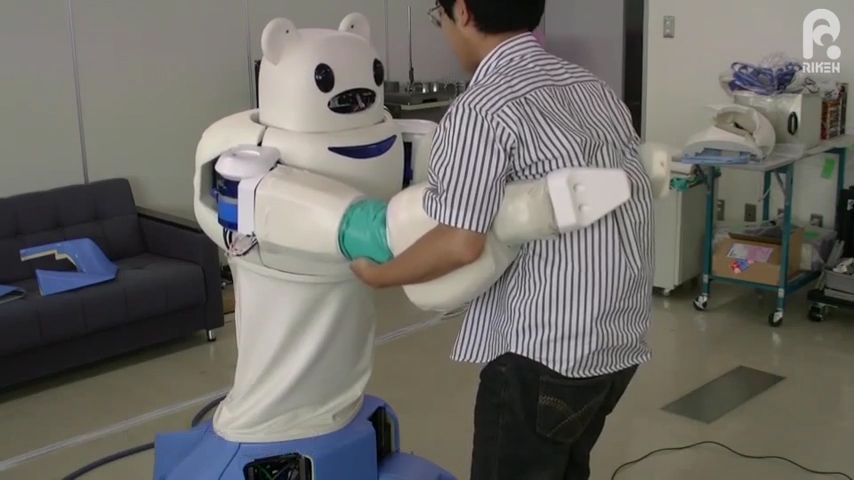 Meet Robear, a robot bear nurse that can lift patients into wheelchairs