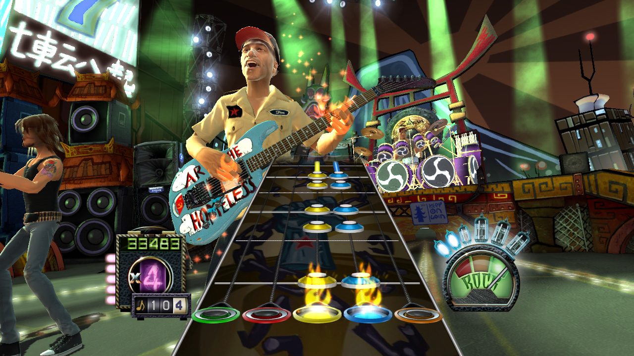 I love guitar hero watch the end