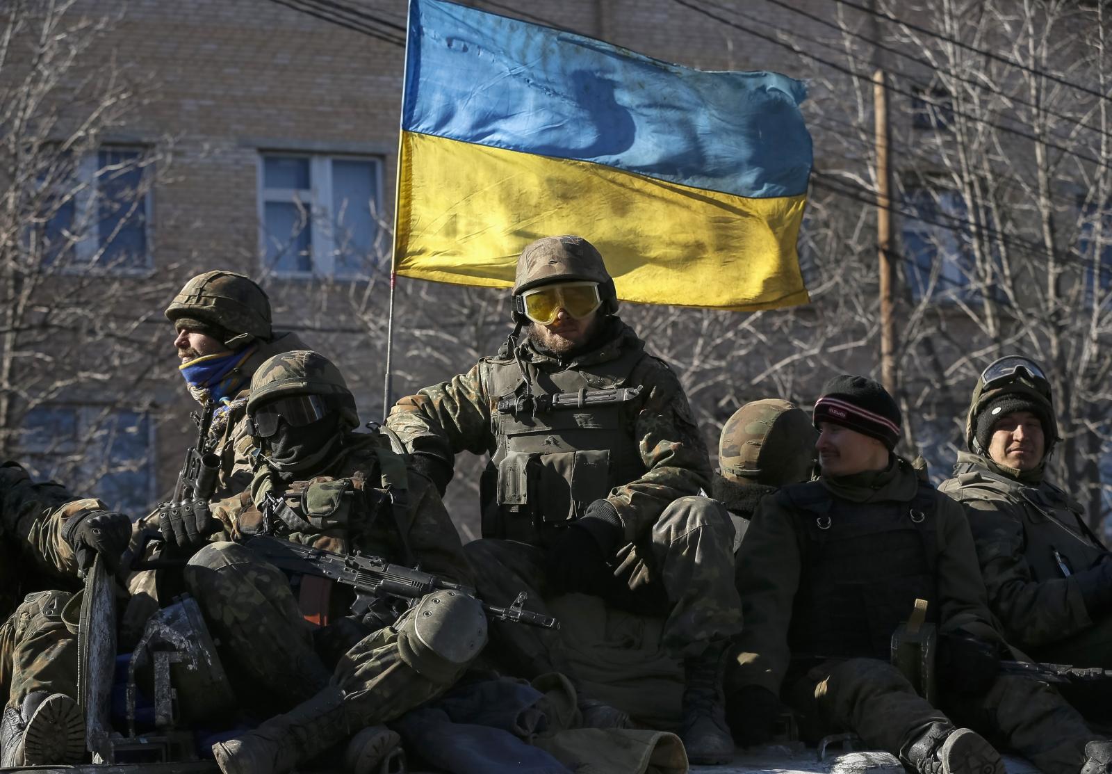 Ukraine forces