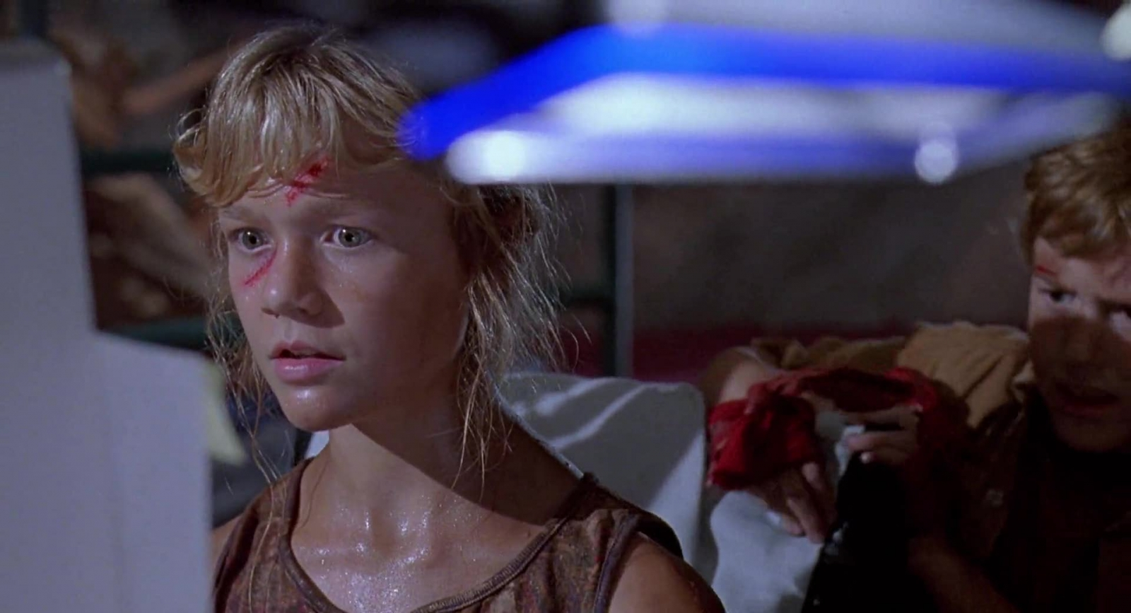 "The ""I Know This!"" scene in Jurassic Park, when Lex saves the day by hacking into a Unix system in under two minutes"