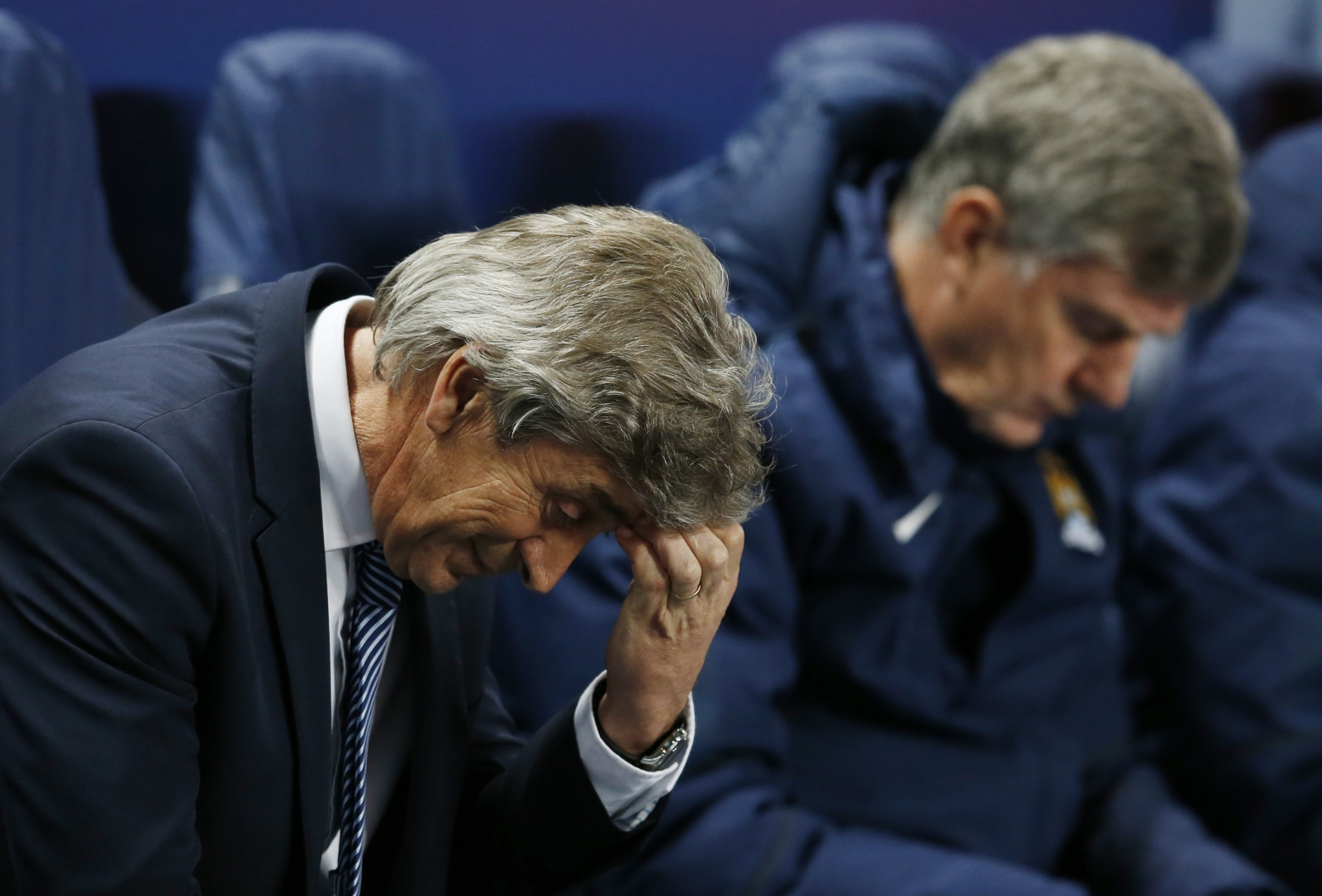 Manuel Pellegrini: Lionel Messi penalty miss gives Man City a chance