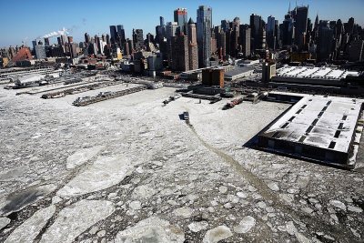 New York ice