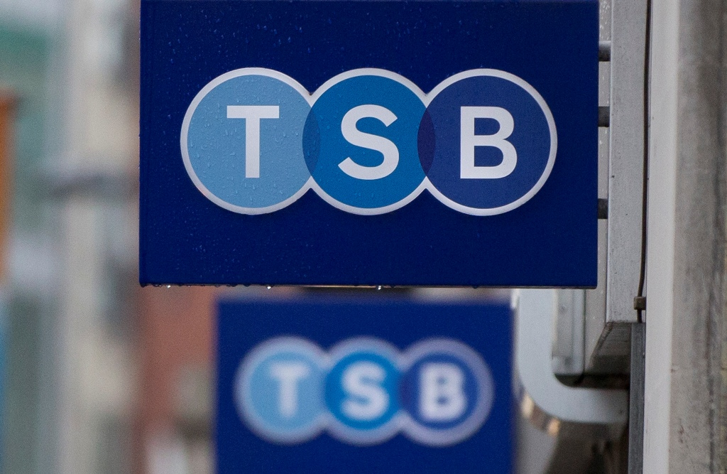 Challenger bank TSB's annual profit inches up