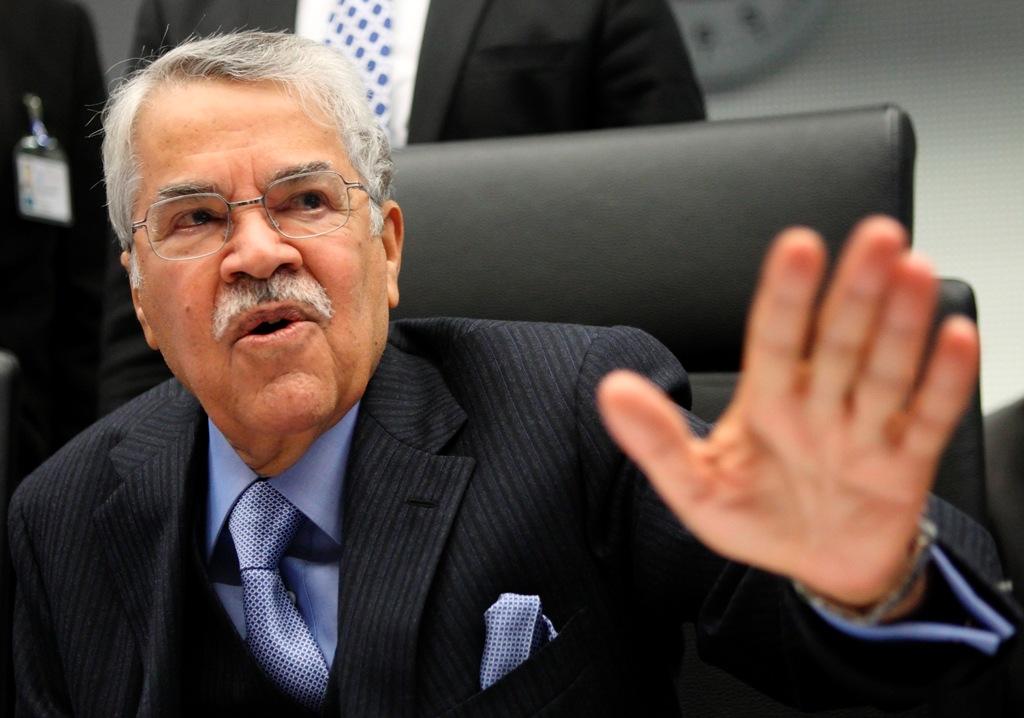 Saudi Oil Minister Ali al-Naimi says crude demand is growing