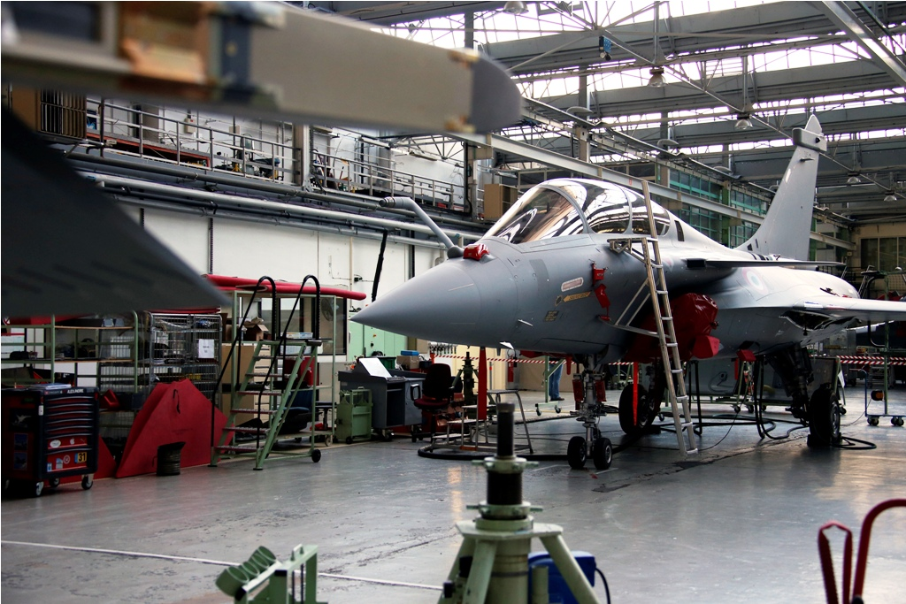 Rafale Fighter Jet Assembly Line in France