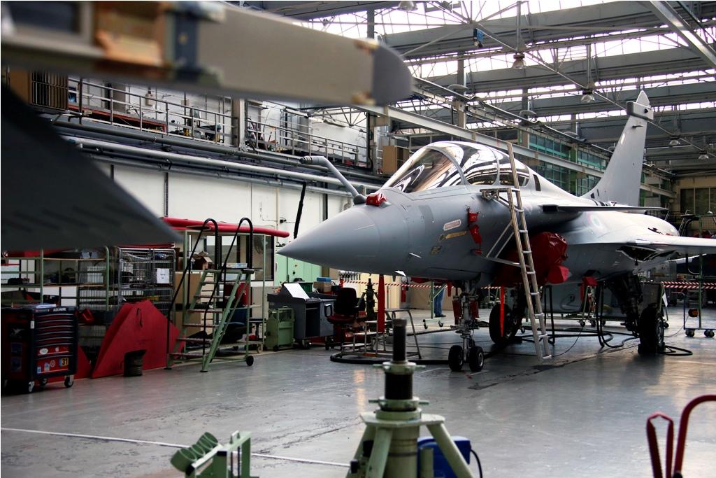 Rafale Fighter Jet Assembly Line in France