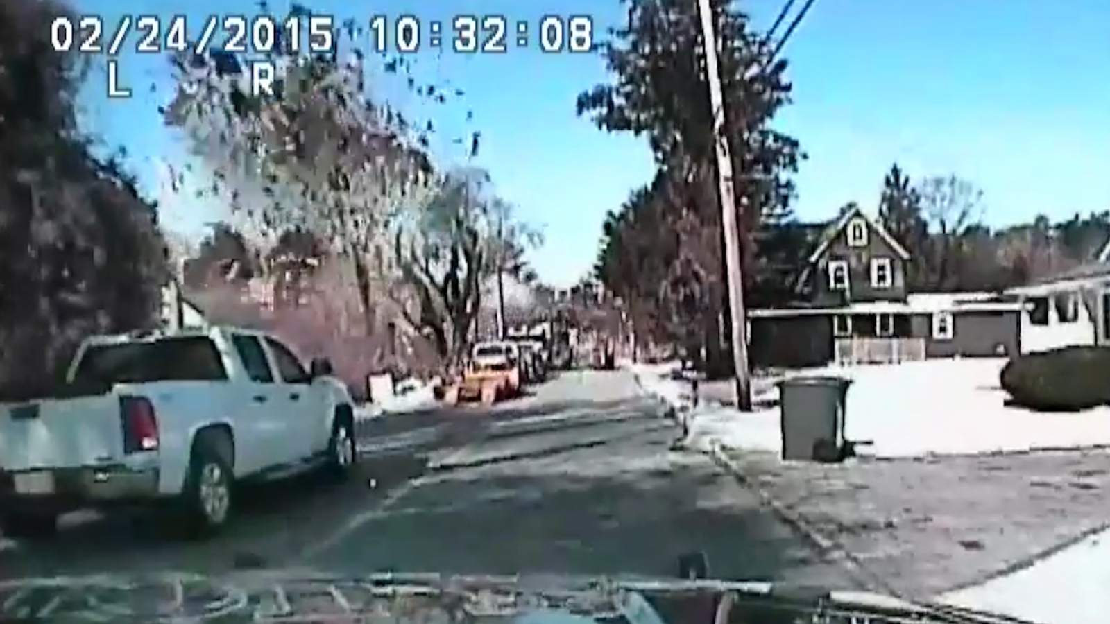 New Jersey house explosion caught on camera