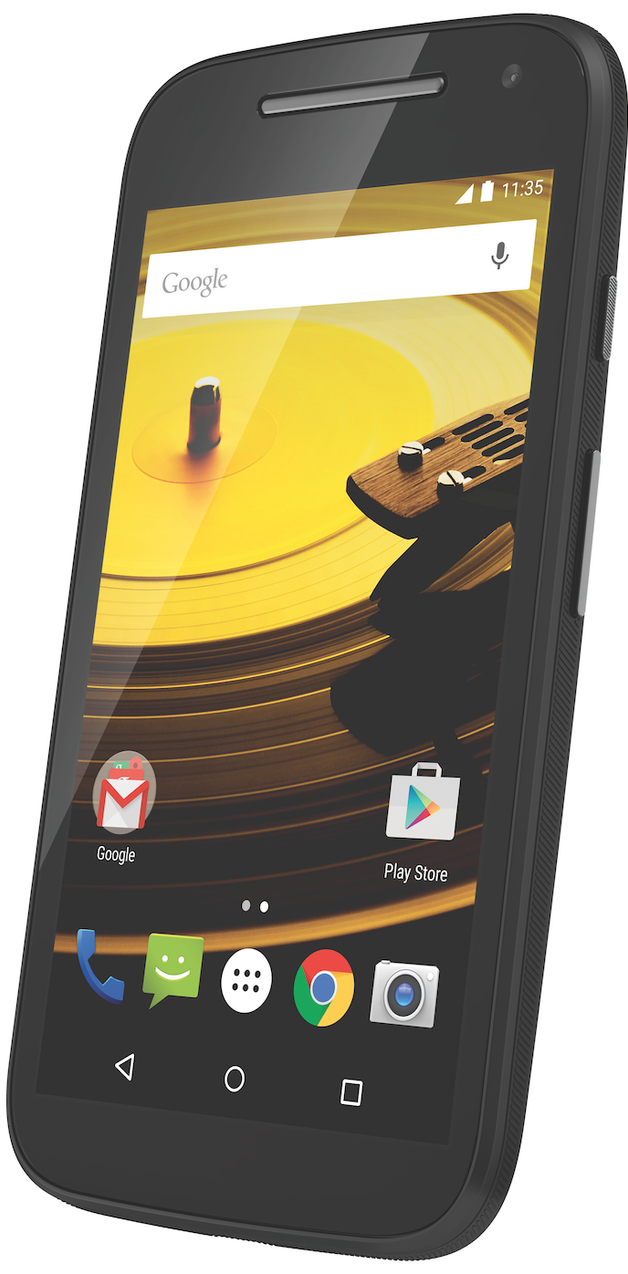 Moto E with 4G and 4.5in screen
