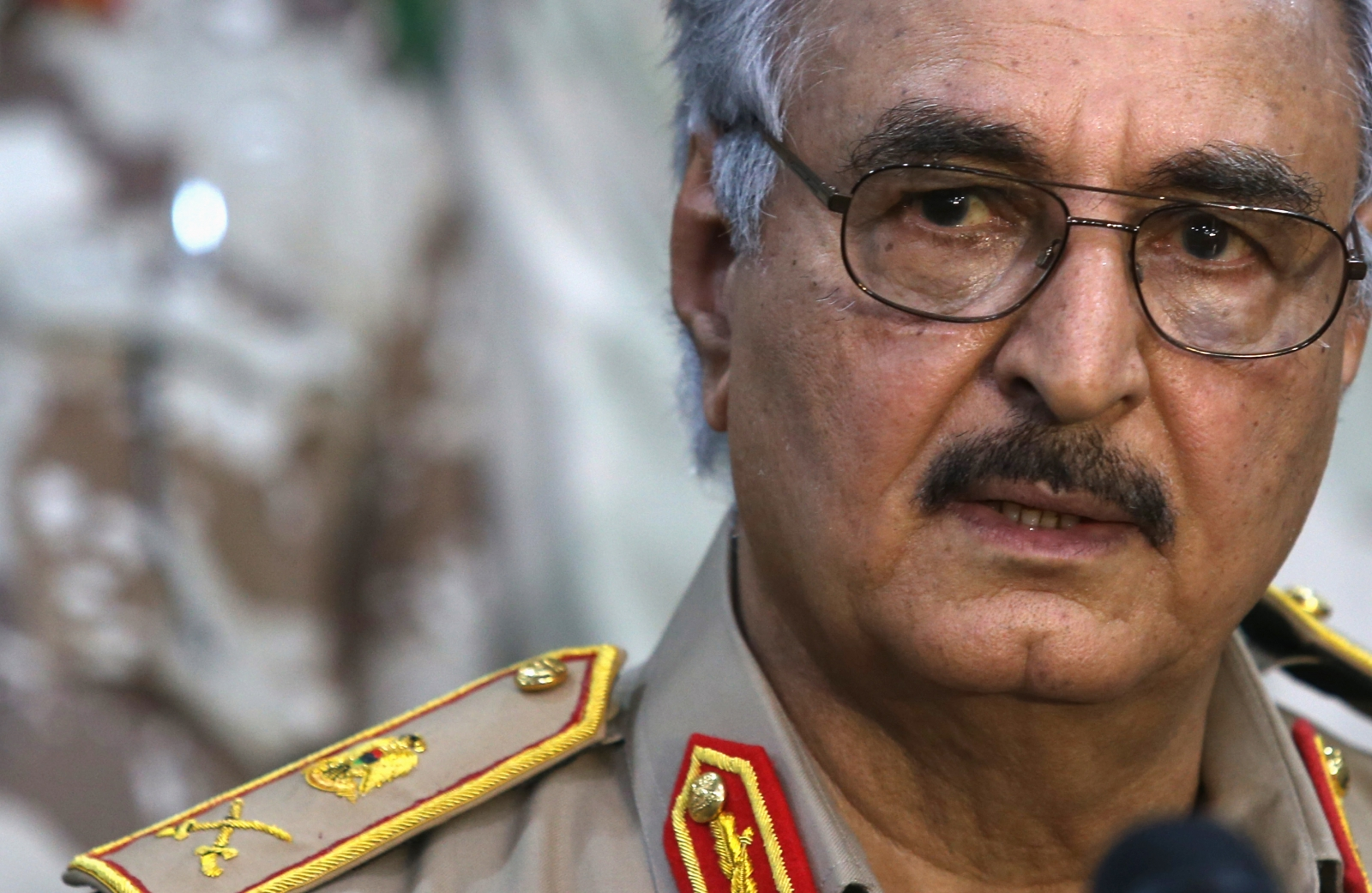 General Khalifa Haftar (Reuters)