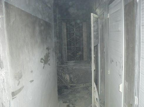 Room burned at Greek Orthodox Church building just outside Jerusalem's Old City