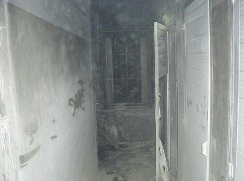 Room burned at Greek Orthodox Church building just outside Jerusalem's Old City