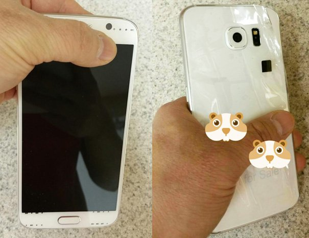 Samsung Galaxy S6 and S6 Edge revealed in first hands-on photos