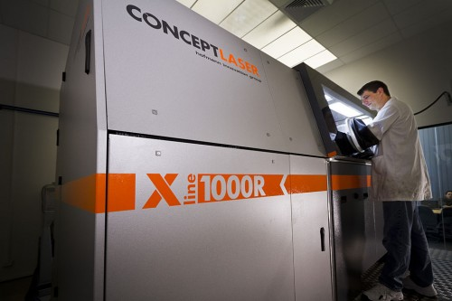 Concept Laser's X line 1000R 3D printer - the largest laser metal melting machine in the world