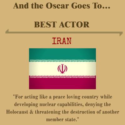 Israel mock Oscars awards