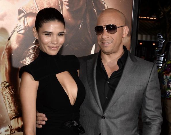 Vin Diesel and Paloma Jiménez