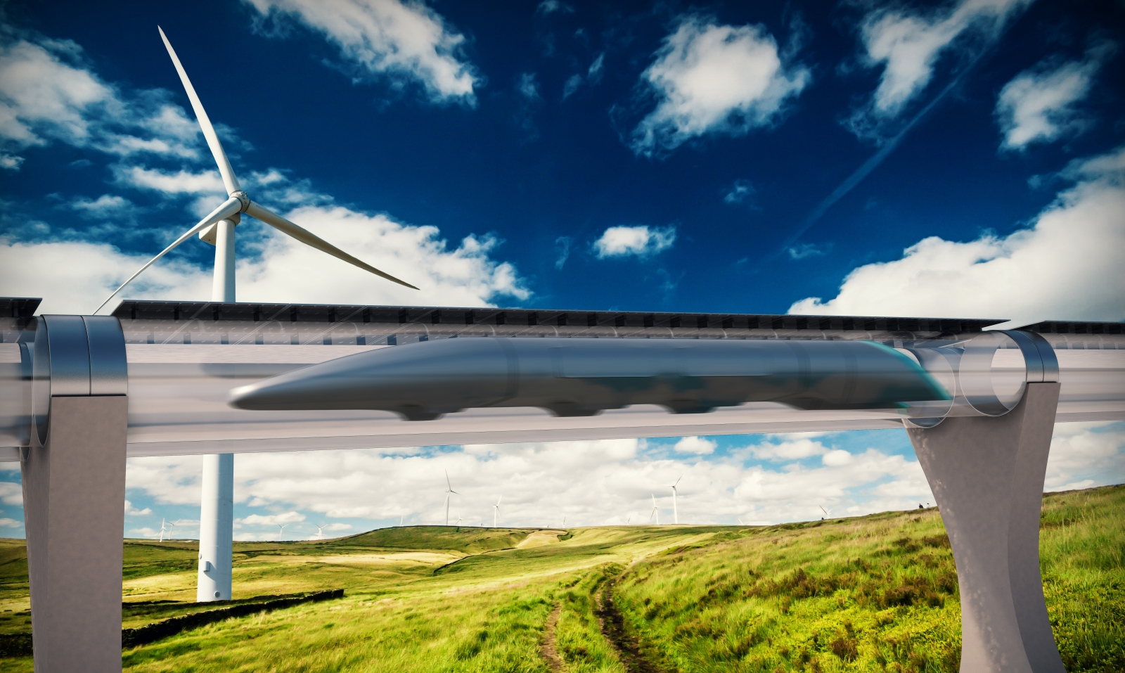 Hyperloop quay valley elon musk