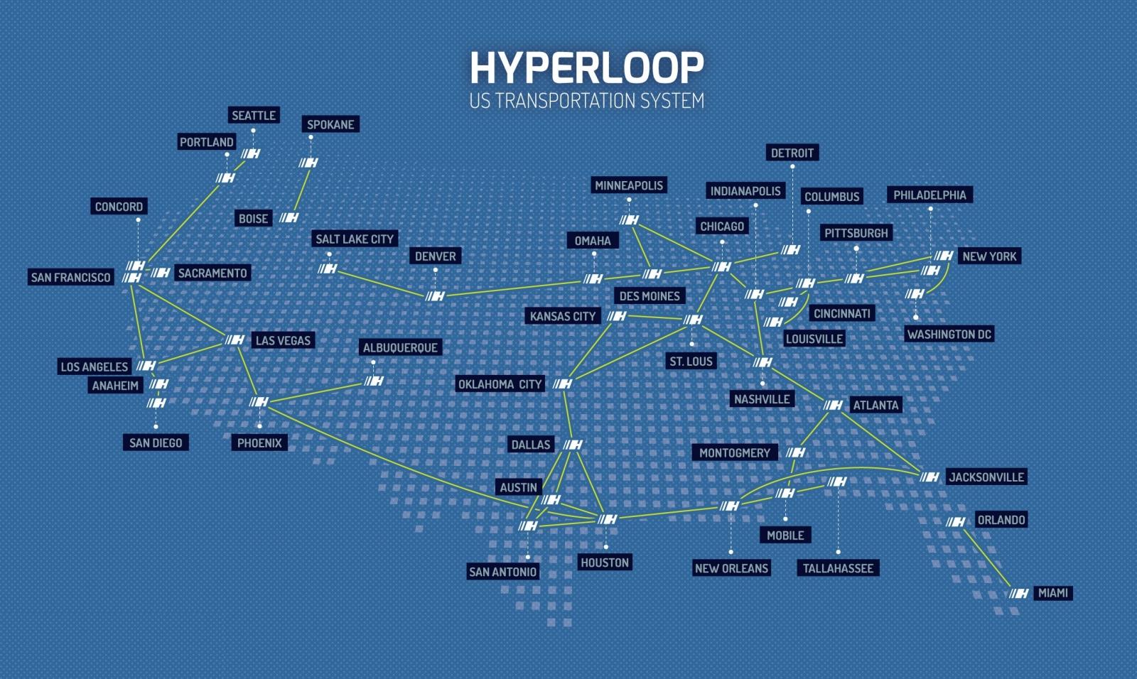 hyperloop HTT musk quay valley