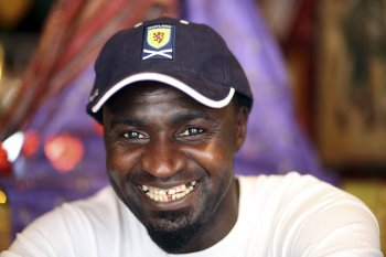 Alieu Badjan Edinburgh Gambia Immigrant