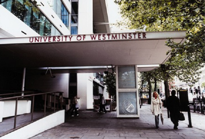 University of Westminster in central London