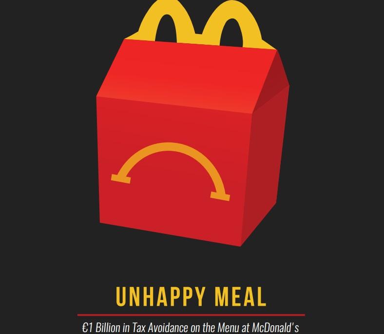 McDonald's accused of dodging €1bn