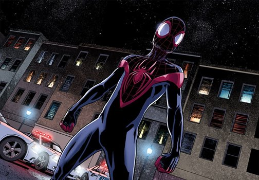 Miles Morales as new black Spider-Man
