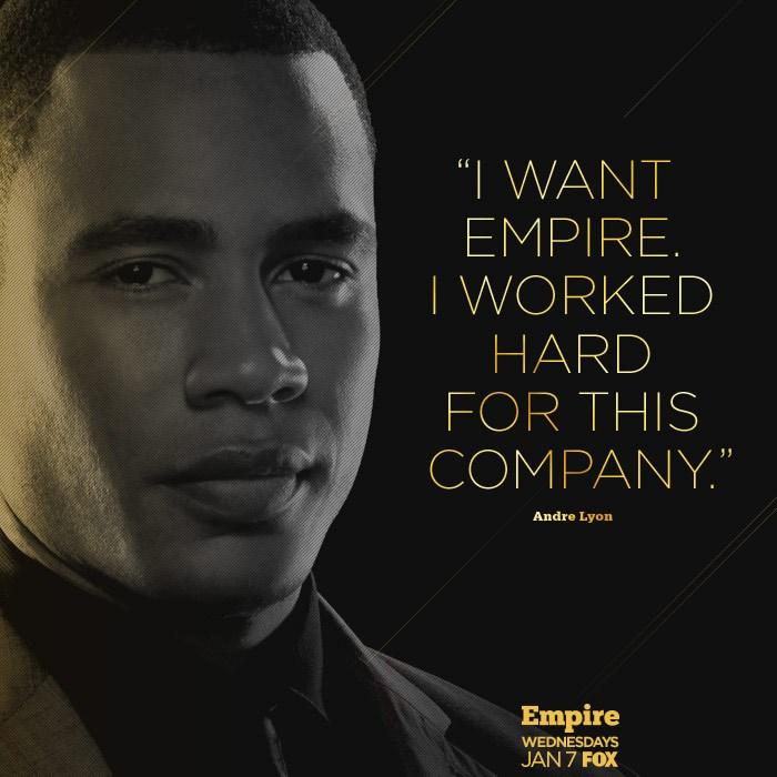 Empire episode 9 Andre Lyon