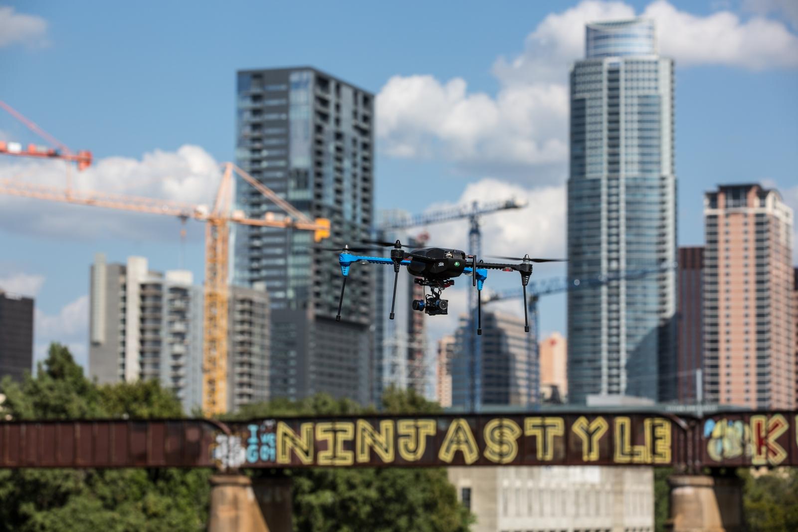 3D Robotics Iris helicopter drone