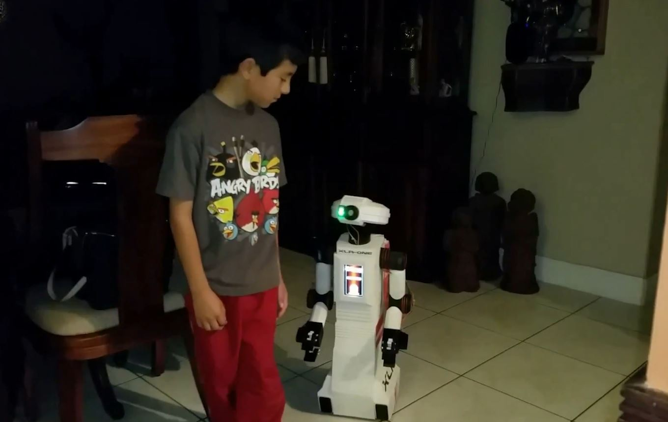 3D printed XLR One Robot