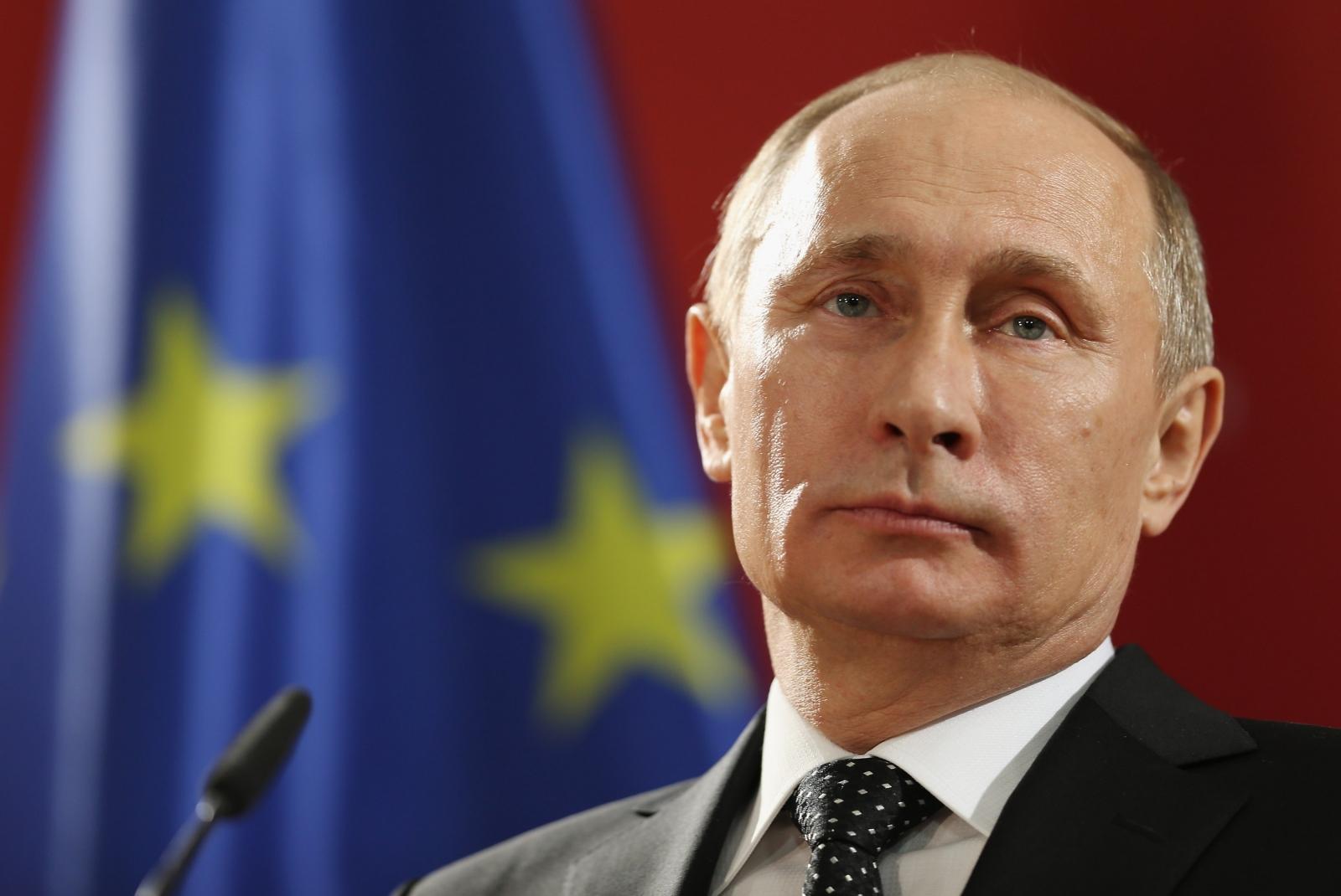 Russian president Vladimir Putin. (Getty)