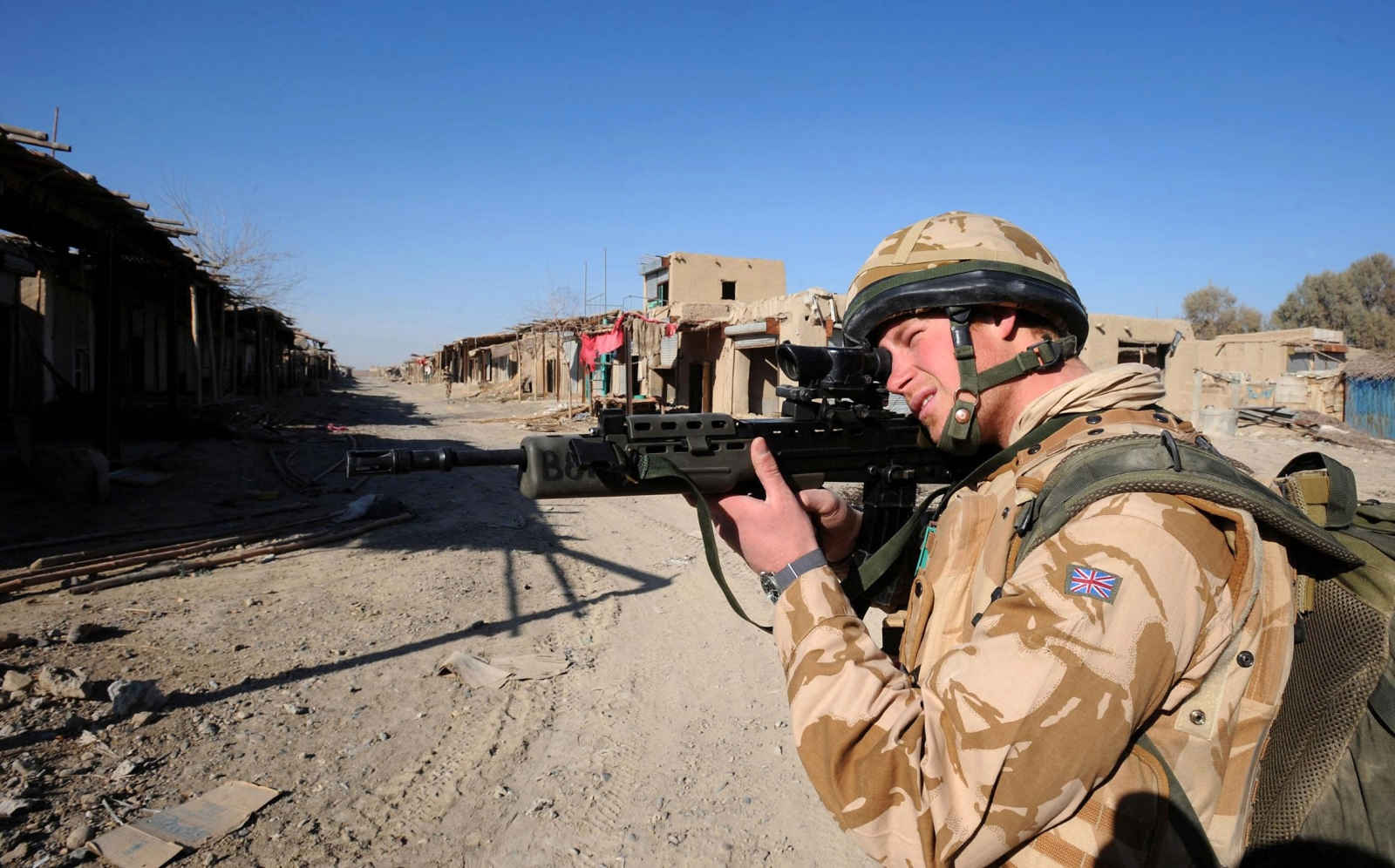 Prince Harry to 'leave armed forces'