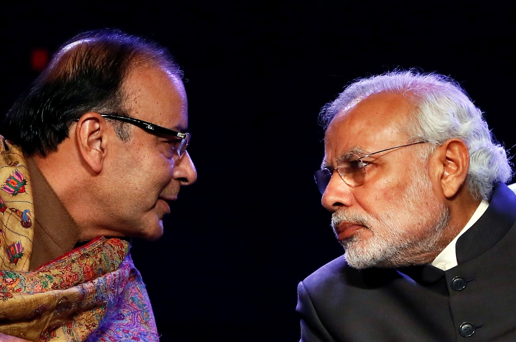 Arun Jaitley and Narendra Modi