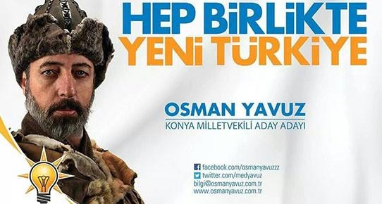 Osman Yavuz wears a Bork