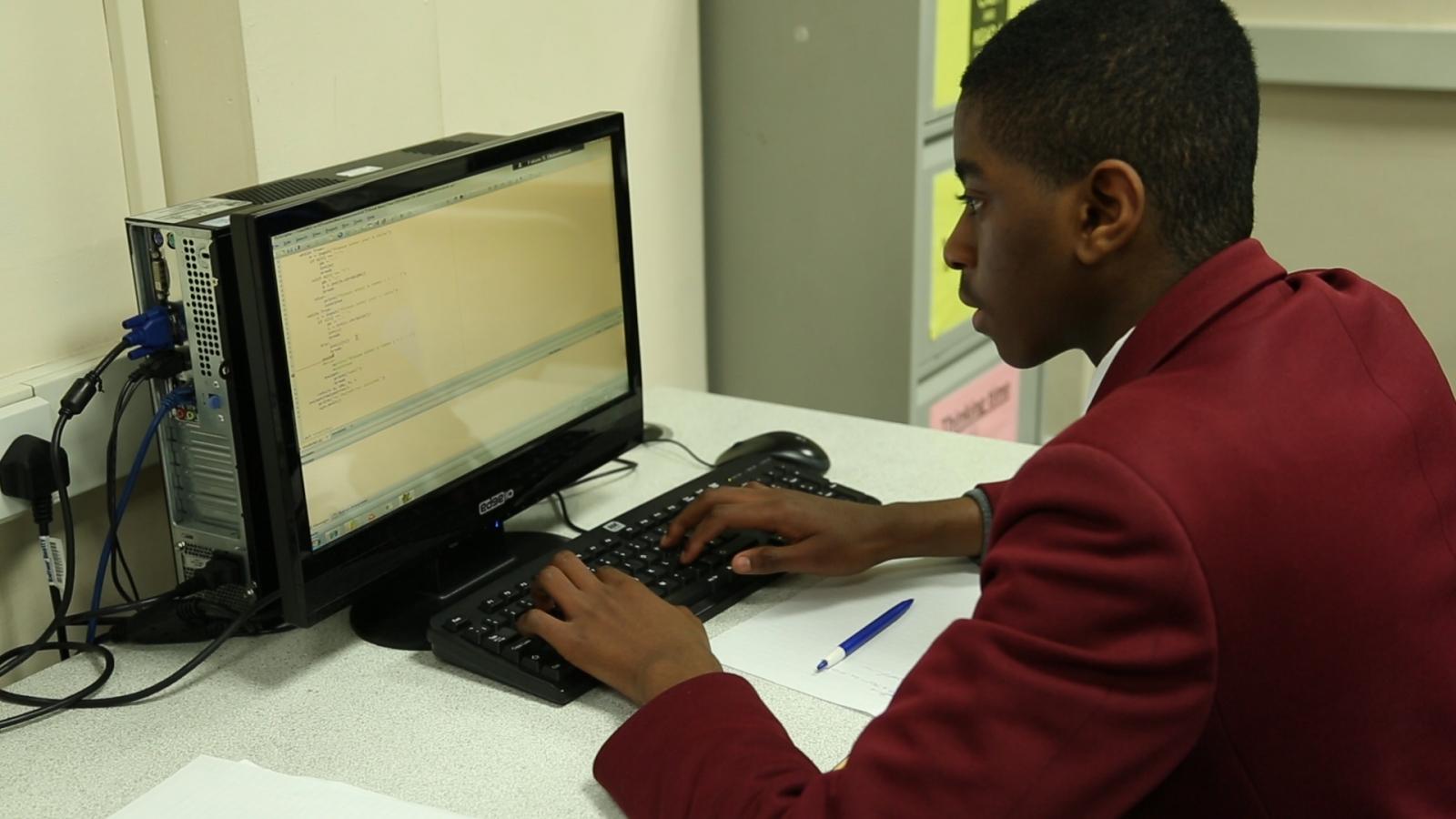 coding computing curriculum teaching UK student pupil