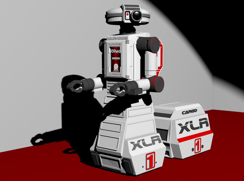 XLR-One personal robot companion