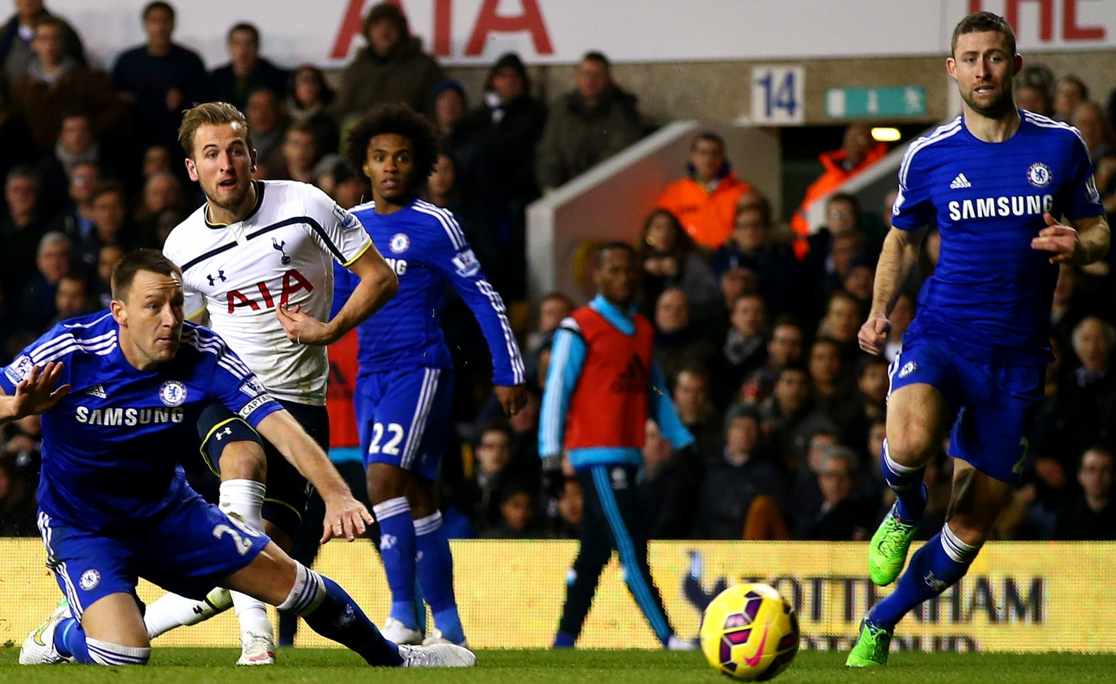 Harry Kane, Gary Cahill, John Terry