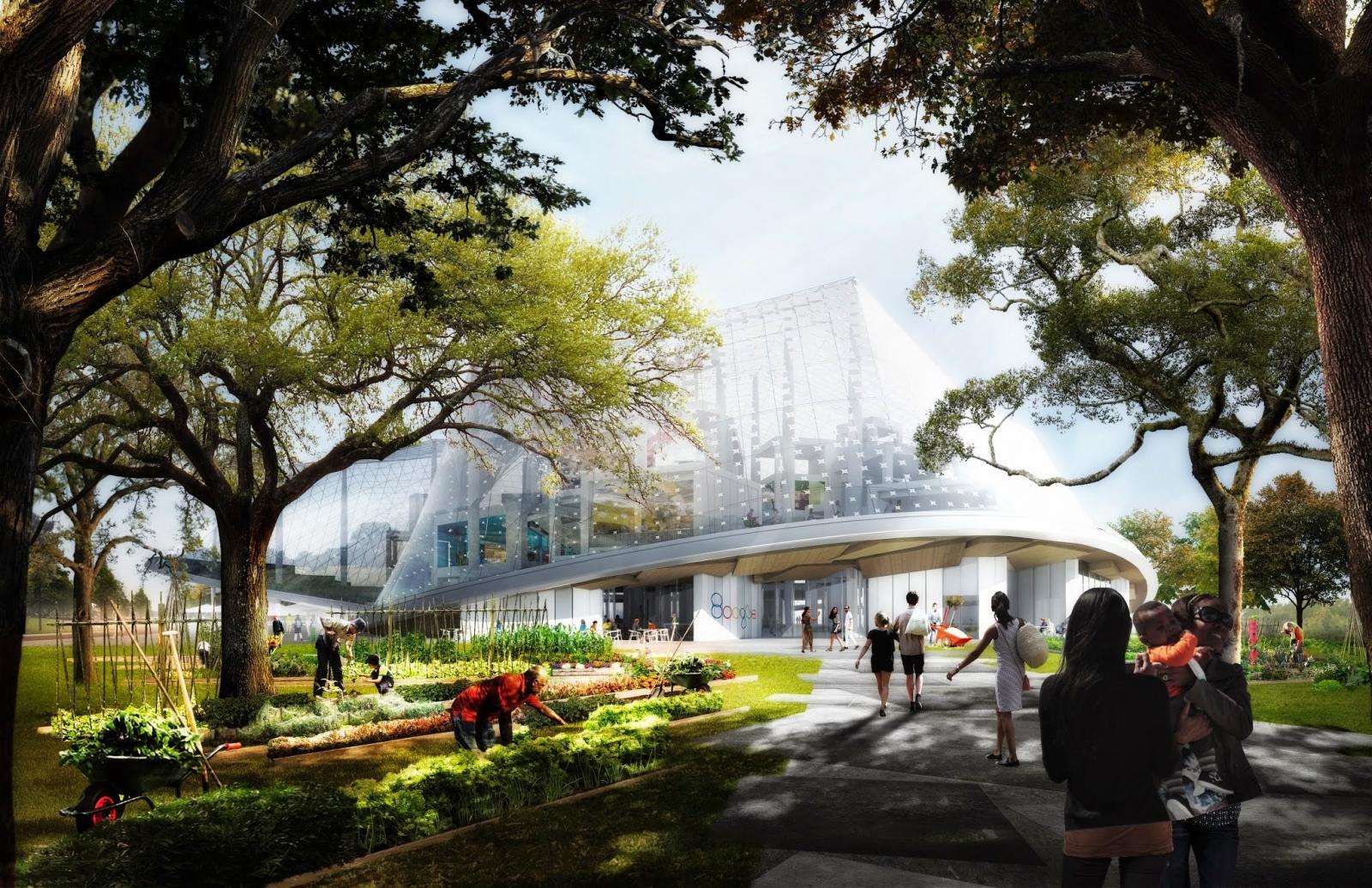 Google's new headquarters