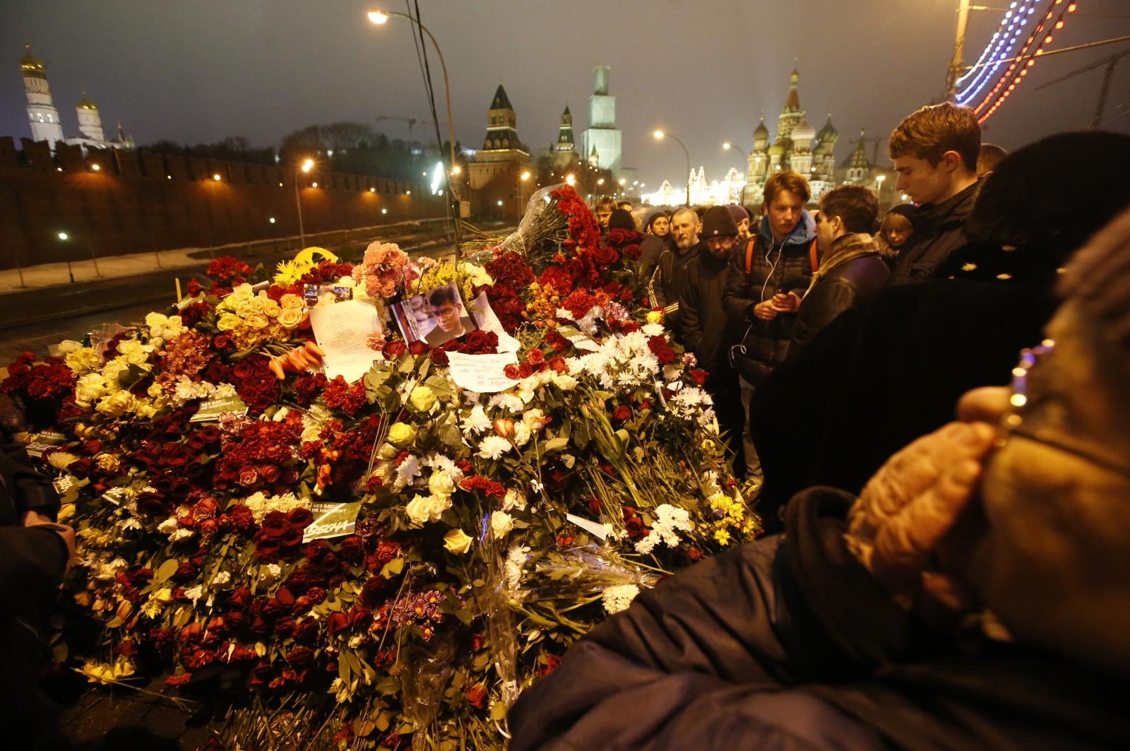 Boris Nemtsov's murder in Moscow