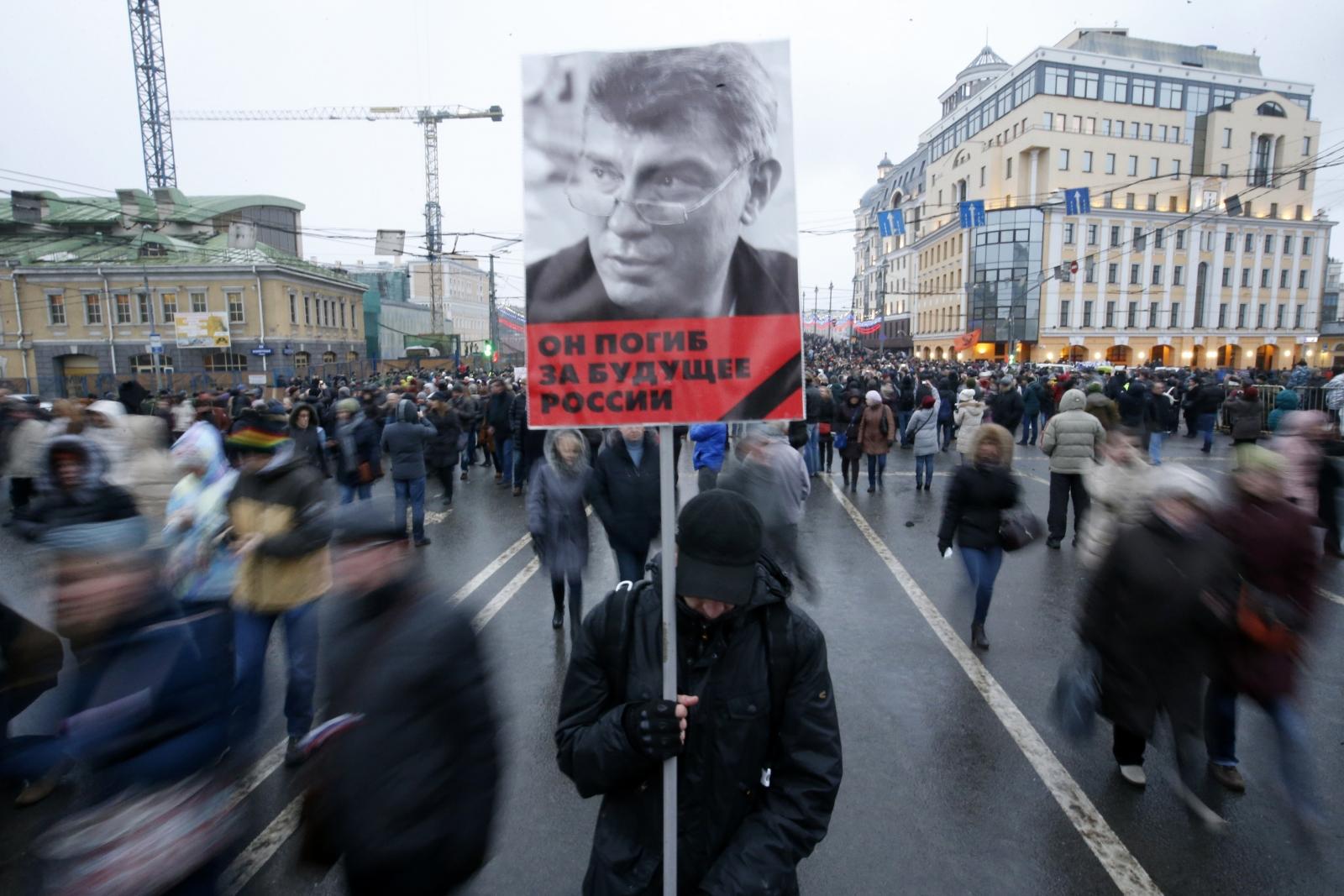 March in memory of Boris Nemtsov